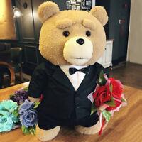 8 styles Movie Teddy Bear Ted 2 Plush Toys In Apron Soft Stuffed Animals Plush 4