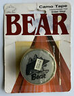 NOS Vintage Fred Bear Archery Camo Tape for Traditional & Recurve Bow Collector