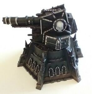 Gun Battery - Games Workshop /Warhammer - scenery - painted and assembled