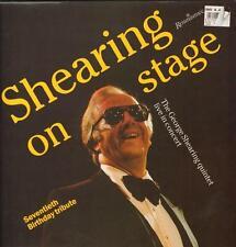 George Shearing(Vinyl LP)Shearing On Stage-Renaissance-REN 004-UK-1989-Ex/VG+