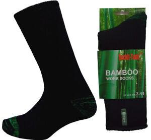 Bulk Bamboo Heavy Duty Work Socks 3 Pairs