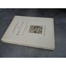 Boccace Contes de Jean Gradassi illustrations couleurs bel exemplaire non coupé,