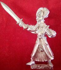 Warhammer WFB citadel GW 1997 Metal Alta Elf Lothern Seaguard campeón