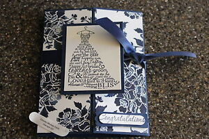 Stampin Up wedding card Love & Laughter Floral Boutique Homemade greeting card