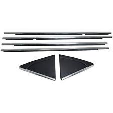 Chrome Door Seal Kit 4 w/Chrome Applique Pair 2011-15 Cruze 95242709/10/11/12