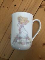 Vintage Precious Moments ASHLEY Coffee/Tea Mug/Cup 1990 Samuel J. Butcher VTG