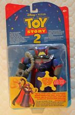 Toy Story 2 Mattel ION BLASTER ZURG Action Figure with International packaging!