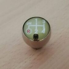 Volkswagen Custom Chrome Shift Knob early VW Beetle Oval Karmann Ghia Bus 10 mm