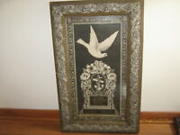 "19c. VICTORIAN Wood Frame 32"" x 20"" Johnstown Flood Drowning Death Paranormal"