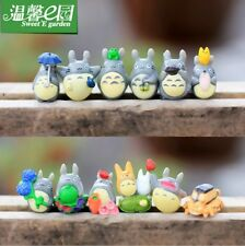 Hayao Anime Figure Collection My Neighbor Neighbour Catbus Totoro Gifts 12pcs