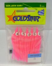 Silver Horde Gold Star Yamashita F15 Pink Mini Sardines Squids Fishing Lures