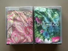 HOM PLUME 2-PACK MICRO BRIEFS STRING 1xFLORAL & 1xPAISLEY SIZE M/L FREE SHIP WD