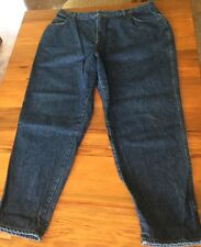 Levi Strauss Jeans 42x30 Womens Denim Blue Rare Made in USA