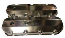 PRW Big Block Chevy 396-502 Crank Case Evac Hole Polished Anodized Valve Covers