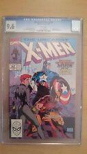 The Uncanny X-Men #268 CGC 9.6 Wolverine Black Widow CAPITAINE AMERICA/MARVEL