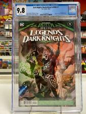 DARK NIGHTS DEATH METAL LOTDK #1 CGC Graded 9.8 ~ ROBIN KING ~ WHITE Pages