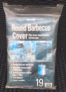 GARDMAN Round Kettle BBQ Barbecue Cover Outdoor Garden Patio 87cm x 61cm