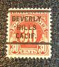 scott#J75 BEVERLY HILLS PRECANCEL 1930 postage due stamp