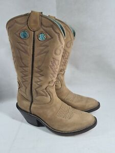 RARE Vintage Bowman's Wilson Boot Co. Custom Mens Cowboy Boots size 13 D