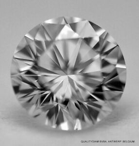 D FLAWLESS TOP END FULL WHITE CLEAN NATURAL DIAMOND - CUT & POLISHED IN BELGIUM