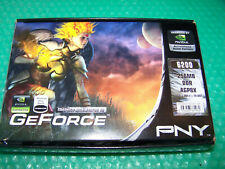 PNY Nvidia GeForce 6200 256MB DVI/VGA/TV-Out AGP Graphic Card, Win 7 compatible