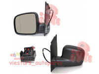 Electric Wing Door Mirror LEFT side NEW  Left Hand Drive VW CADDY 2004 - 2015