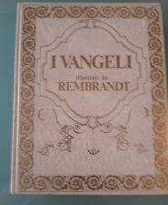 VANGELO SECONDO MATTEO VANGELI ILLUSTRATI DA REMBRANDT EDITORIALE DEL DRAGO 1982