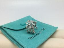 TIFFANY Paloma Picasso Olive Leaf Bandring Diamanten 18kt Weißgold RW50 LP5.450€
