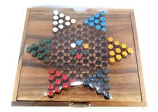 NEW Chinese chess set checker Board game family classic vintage wooden toy party