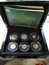 More details for d-day 75th anniversary of the normandy landings world war ii coin gift set 1944