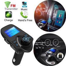 "1.44"" LCD Screen Car Bluetooth FM Transmitter Modern USB MP3 Player w/ MIC US"