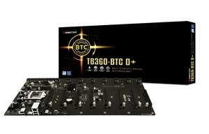 Biostar TB360-BTC D+ LGA1151 SODIMM DDR4 8 GPU Support GPU Mining Motherboard