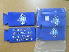 10 Pack - Bud Light 16 oz Aluminum Bottle 24 oz Can Koozie 32 Nfl Team Helmets
