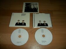 PET SHOP BOYS - ACTUALLY FURTHER LISTENING (RARE LIMITED EDITION 2 CD ALBUM) PSB