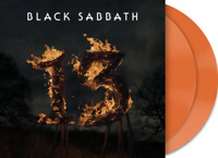 Black Sabbath - 13  Limited 2 Orange Vinyl LP Gatefold NEU OVP