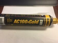 DeWalt Ac 100+ Gold Shot anchoring adhesive new