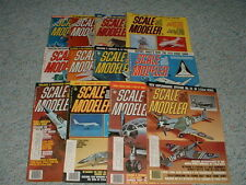 Scale Modeler Magazine Complete set  1978 12 issues
