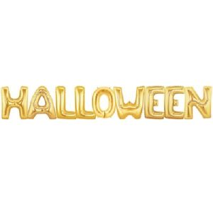 """16"""" 40"""" Letter Balloons HALLOWEEN BOO Party Decoration Supply Balloon Fun Drink"""