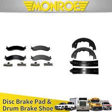 Monroe DX805 FRONT Dynamics SEMI-METALLIC Brake Pads FREE SHIPPING