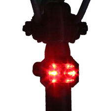 2 x LED Bicycle Bike Mountain Rear Tail Light Taillight Red Focus Warning Lamp
