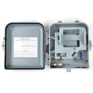 FTTH 16 Cores 1*16 Mini Blockless PLC Splitter Fiber Optic Terminal Box FTTH Box