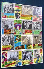 LUCHA VILLA COLLECTION 12 LOBBY CARDS PHOTOS ORIGINAL 1960s NEAR MINT