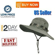 Boonie Hat Summer UV Sun Protection Cap Fishing Hunting Hiking Outdoor Use NEW