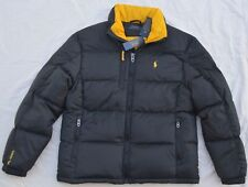 New L Large Polo Ralph Lauren Mens puffer down ski trek jacket black coat puffa
