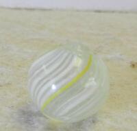 #12987m Vintage German Handmade Peewee Marble .47 Inches NM+