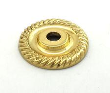 Amerock Solid Brass Knob Backplate Cabinet Cupboard Door Drawer Dresser Hardware