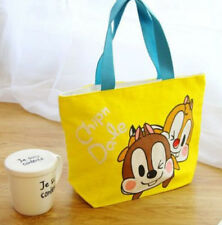 disney squirrel couple  lunch bag storage handbag tote bags anime bag new