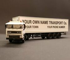 DAF Diecast Model Truck/Lorry | Personalised & Customised with your Message