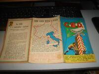 Flyer Plegable Propaganda D.c. Comunidades ' Europa C. M. O. L. L. E. D. Anni