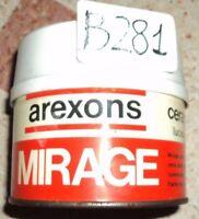 B281 - TRATTAMENTO CERA AUTO PROTETTIVA BRILLANTEZZA NATURALE MIRAGE AREXONS